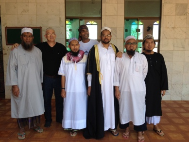 مع وفد الدعاة من ماليزيا